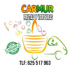 logotipo carmur, frutas y verduras a domiciio