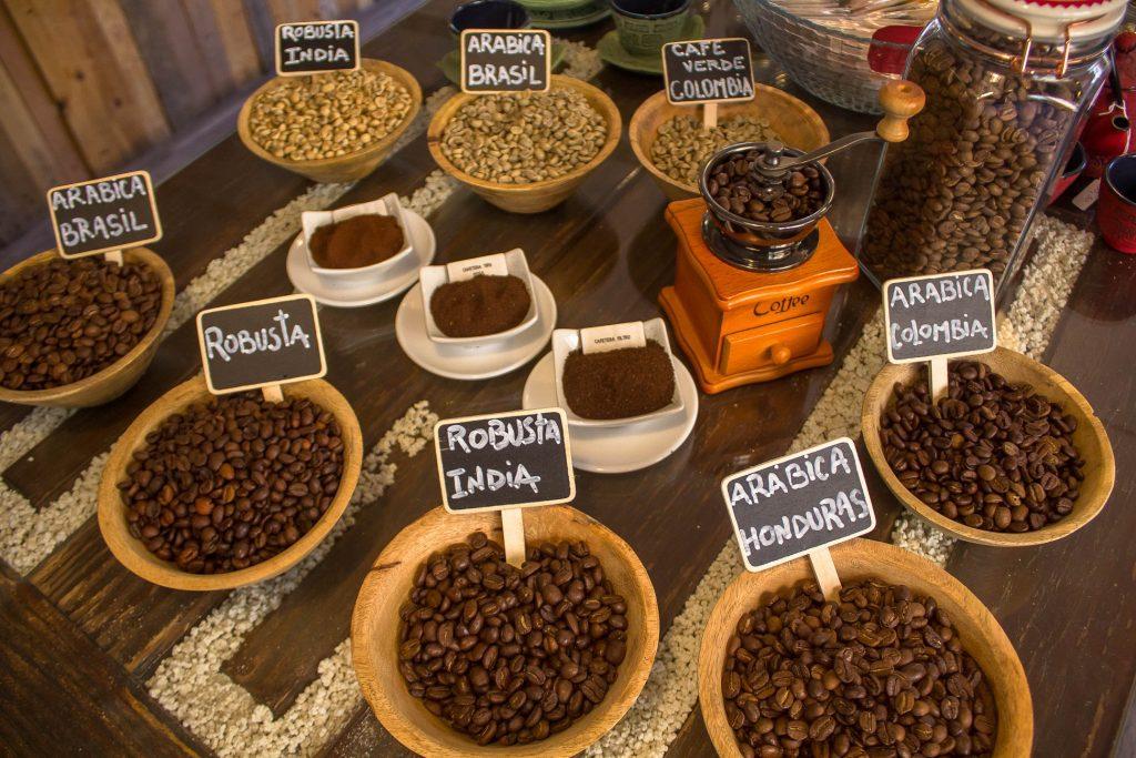 Café molido en La Tienda de Cafés